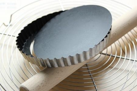 タルト型15センチ菊型-底外れる写真