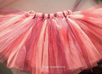 針糸なしでとっても簡単♡チュールスカートのハロウィン
