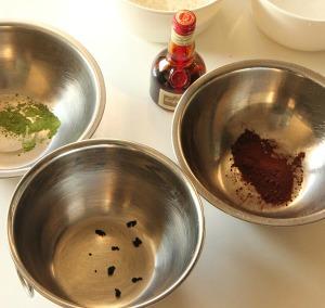 3種類の味を分ける
