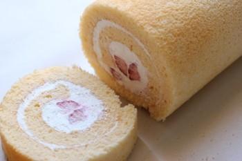 ロールケーキサイドカット