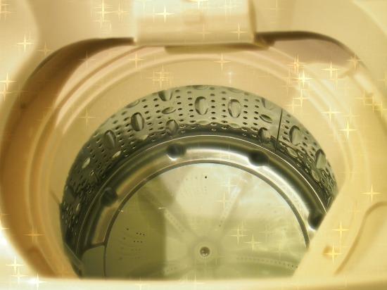 洗濯槽のカビ掃除