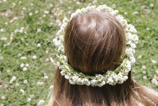 春にピッタリ!子供と作れる「花かんむり」の作り方♡