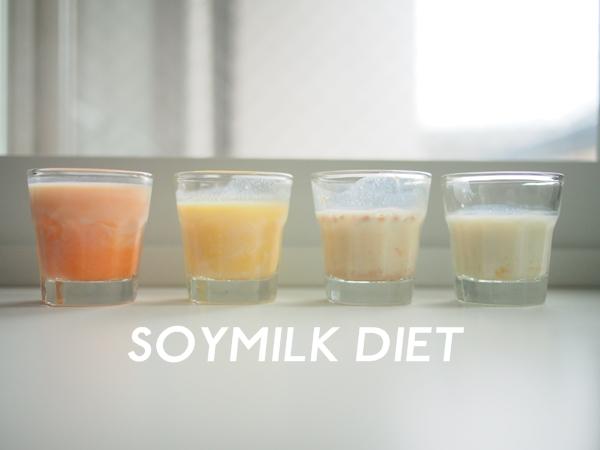 生理前1週間豆乳ダイエット